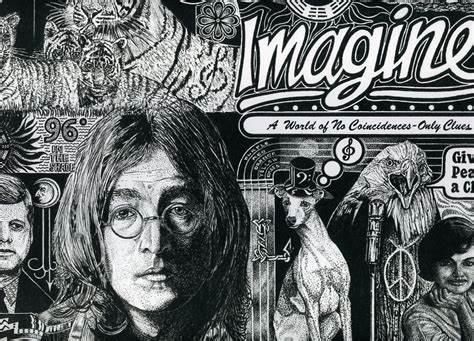 经典歌曲《Imagine》《想象》中英文对照歌词