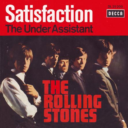 经典歌曲《Satisfaction》《满足》中英文对照歌词