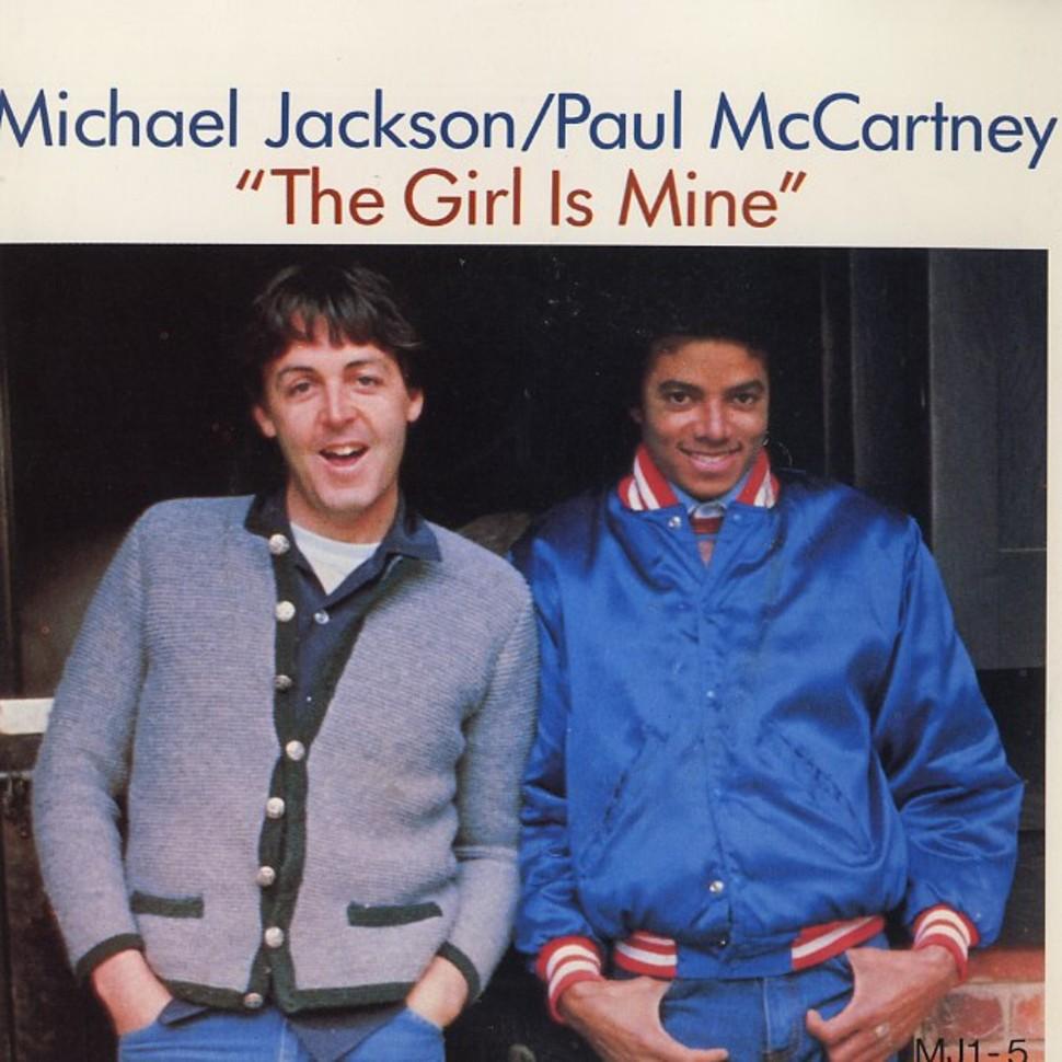 经典歌曲《The Girl Is Mine》《昨日某日》中英文对照歌词