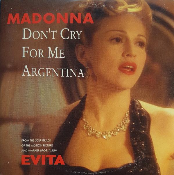经典歌曲《Don't Cry For Me Argentina》《阿根廷别为我哭泣》中英文对照歌词