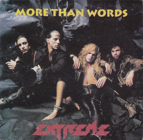 经典歌曲《more than words》中英文对照歌词