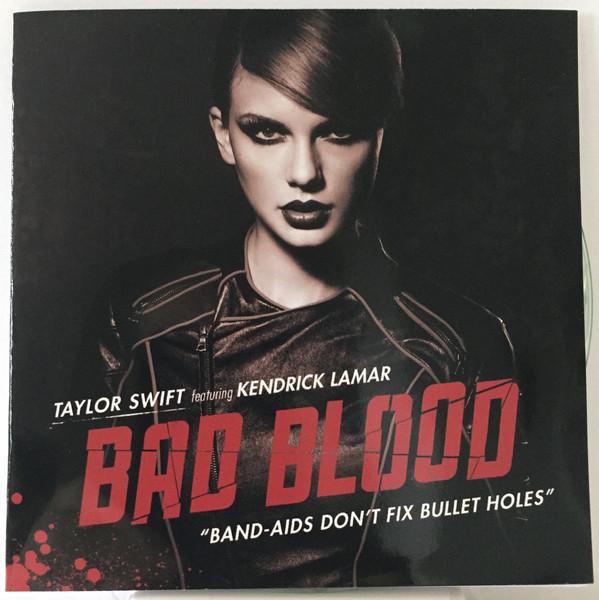 经典歌曲《Bad Blood》《敌对》中英文对照歌词