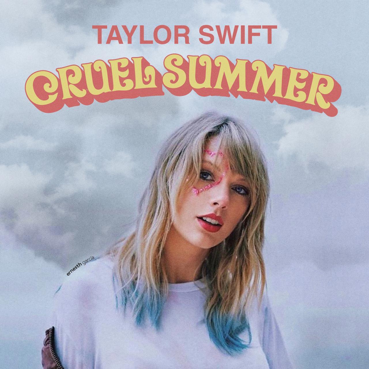 经典歌曲《Cruel Summer》《残酷盛夏》中英文对照歌词