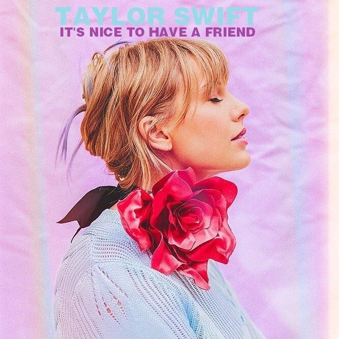 经典歌曲《It's Nice to Have a Friend》《有个朋友真好》中英文对照歌词