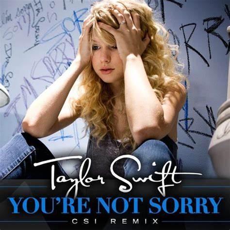 经典歌曲《You're Not Sorry》《你不必道歉》中英文对照歌词
